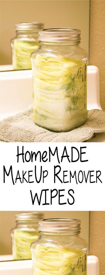 I tend to experiment with homemade makeup removers. My go-to is generally the Oil Cleansing Method, but sometimes I am admittedly lazy,