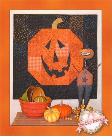 "Happy Jack, 30 X 30"", wall quilt/tablemat at Shabby Fabrics:"