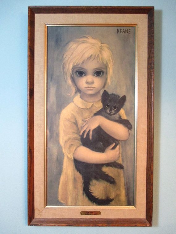 Vintage Margaret Walter Keane Big Sad Eyes The by FourCoquettes