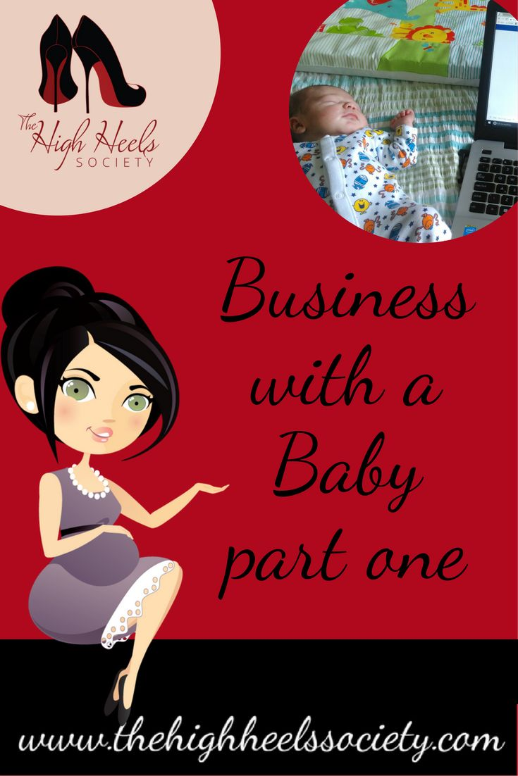I had a lovely naïve vision that I could take a few months off from my other business, and that baby Finn would just slot in easily. via @highheelsclub Business with a baby, child. Parenting