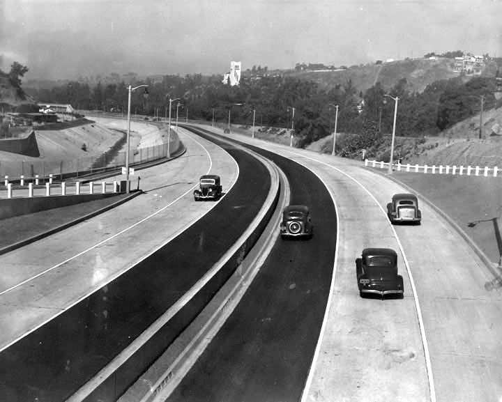 Photos When Southern California S Freeways Were New And Empty