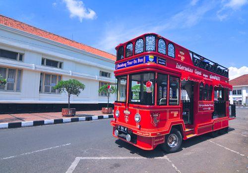 City Tour Bus In Indonesia    #bus #city #tour #indonesia #shaum #unique #trip