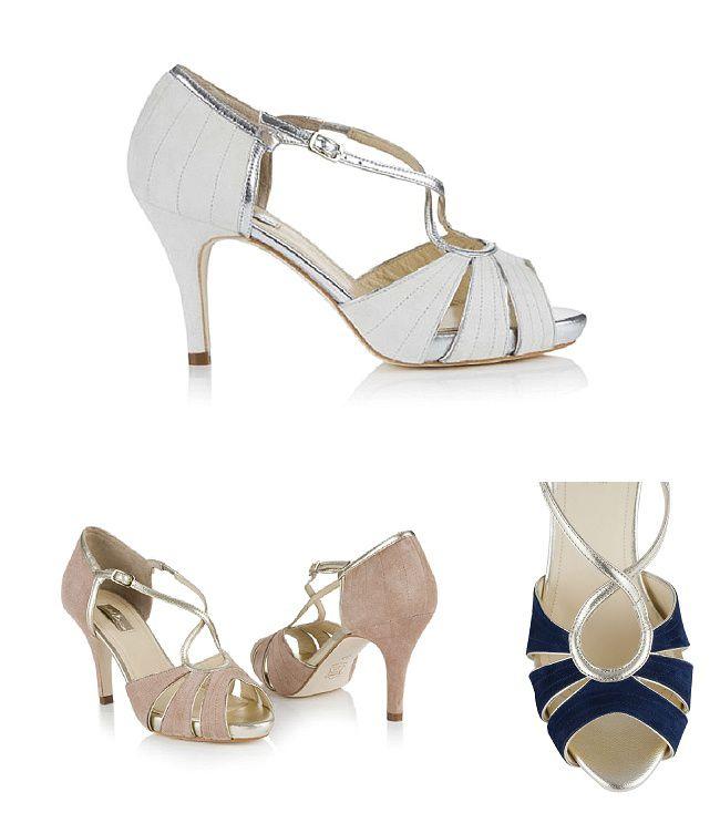 Rachel Simpson's Shoes are perfect for a vintage theme Victoria, £175