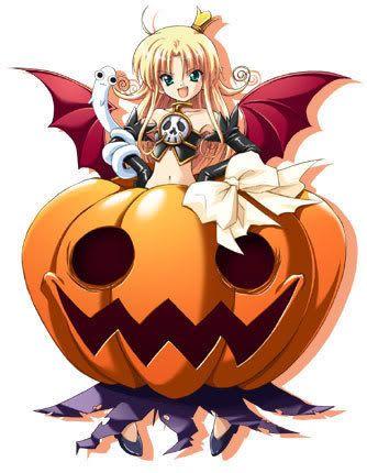 halloween anime characters