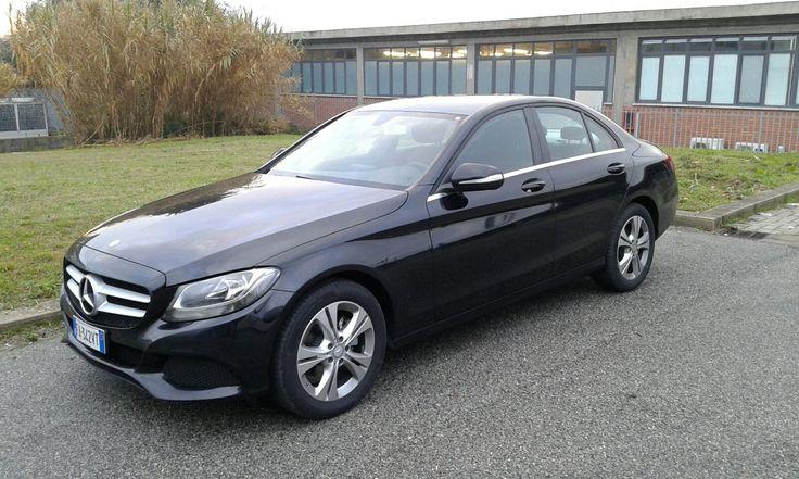 Mercedes C Class | Black | 2015 | #rent #c200 #german #car #cars #auto #c-class #executive #business #sedan #italy