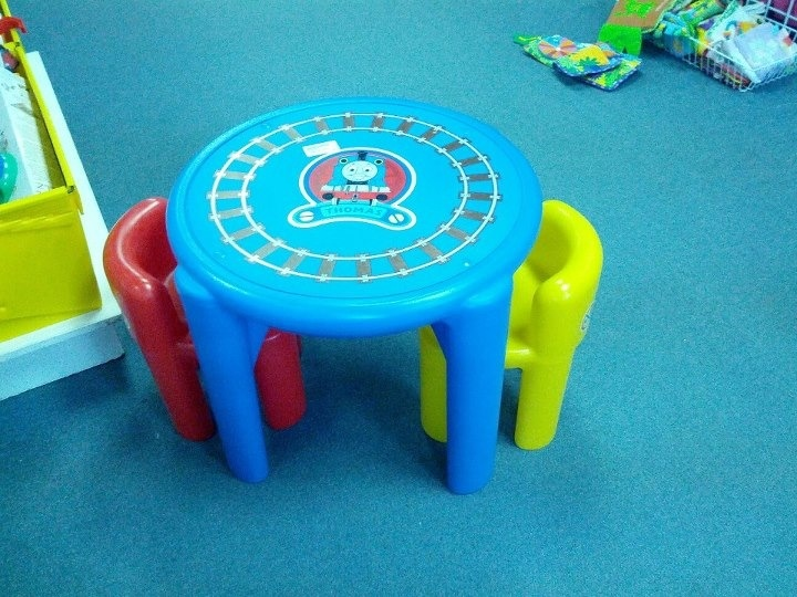 Thomas the Train table and chair set.