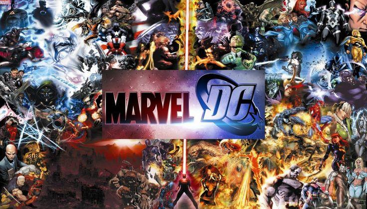 Boekenplank voor de echte superhelden - wonen voor mannen - marvel, dc, striphelden, boekenplank, design