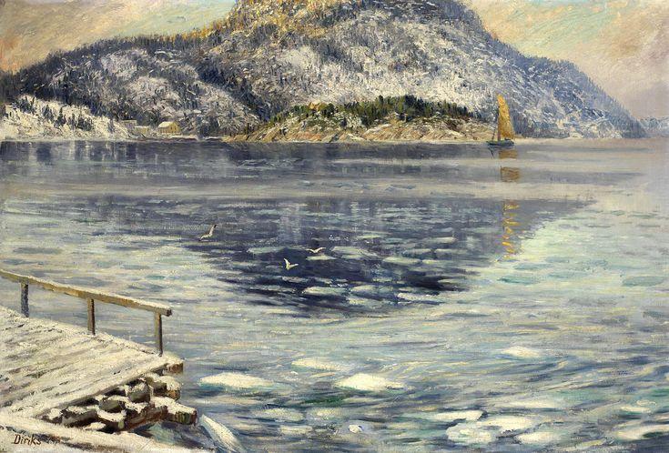 Isløsning - Karl Edvard Diriks