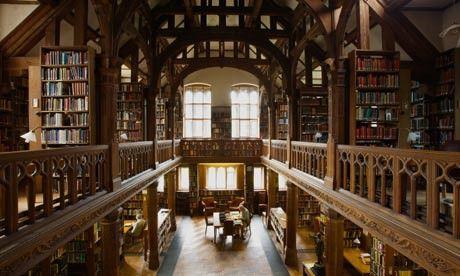 Charles Rennie Macintosh Library - Glasgow School of Art by millicent