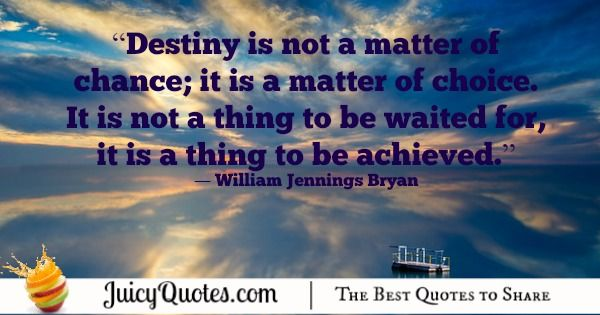 Quote About Change - William Jennings Bryan