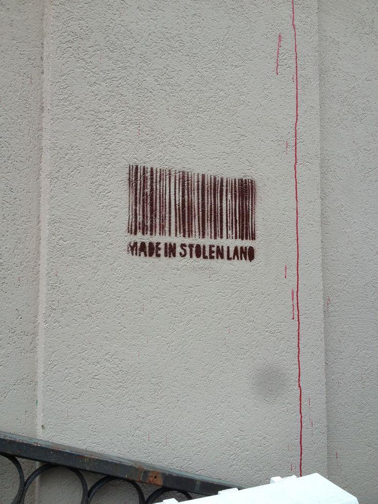 Made in stolen land