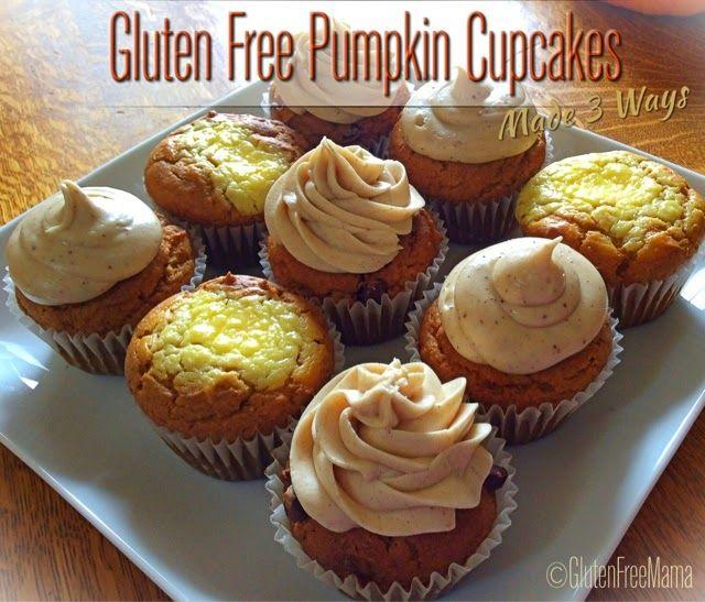 ... Cupcake Glutenfre, Pumpkin Cupcakes, Gluten Free Pumpkin Cupcake, Fall