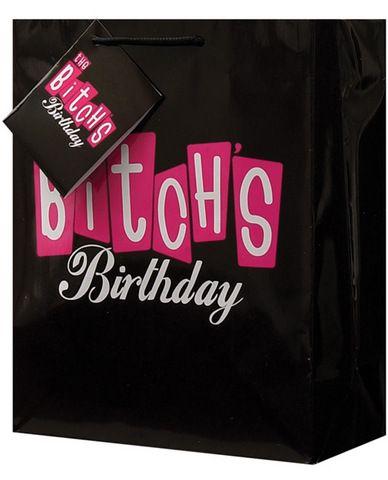 The bitches birthday gift bag #kizarma $1.56
