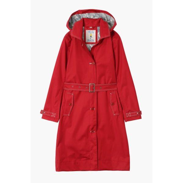 The Original Seasalt Raincoat - with hood. Great for the school run on rainy days.