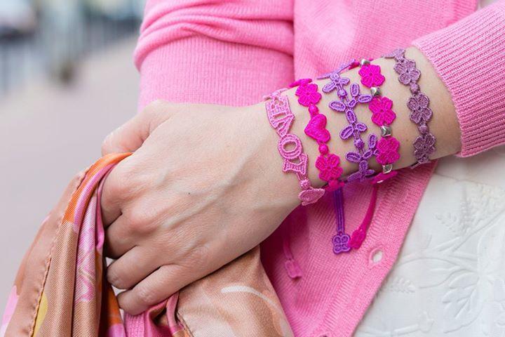 Pink Mood... #cruciani #armbänder www.armband-cruciani.de