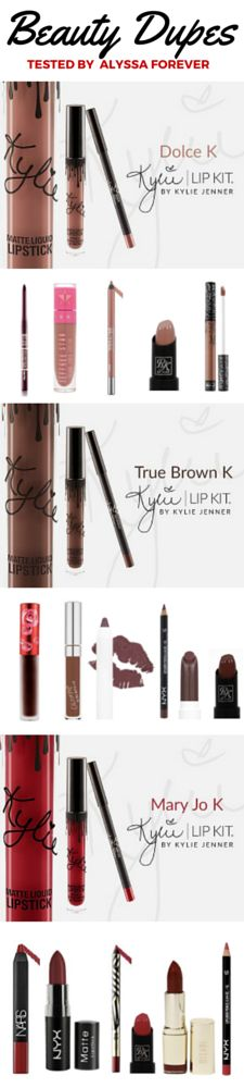 Kylie Jenner Lip Kit Dupes | Parsel Shop the content that inspires you
