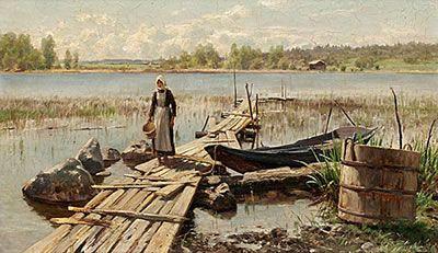 Hjalmar Munsterhjelm (1840-1905) - Finland