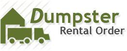 Dumpster Rental Order | Rent a Dumpster