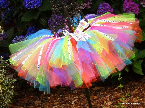 Toddler Boutique Birthday  Cupcake Adjustable Tutu by GROOVYGURLZ