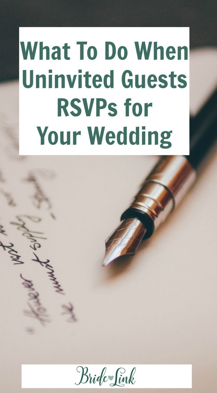 Modern Wedding Etiquette 101 Unexpected RSVPs