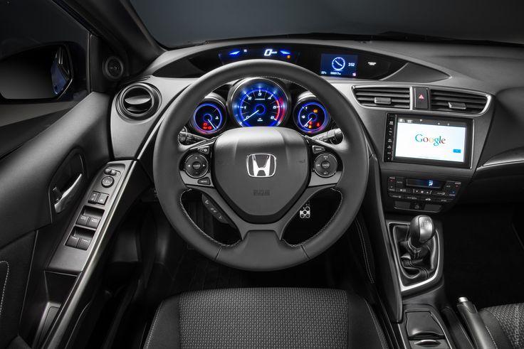 2015 Honda Civic Sport  #2014MY #Segment_C #Honda_Civic_Sport #Honda_Civic #2015MY #Honda #Mondial_de_l_Automobile_2014 #Japanese_brands #Honda_Civic_Tourer