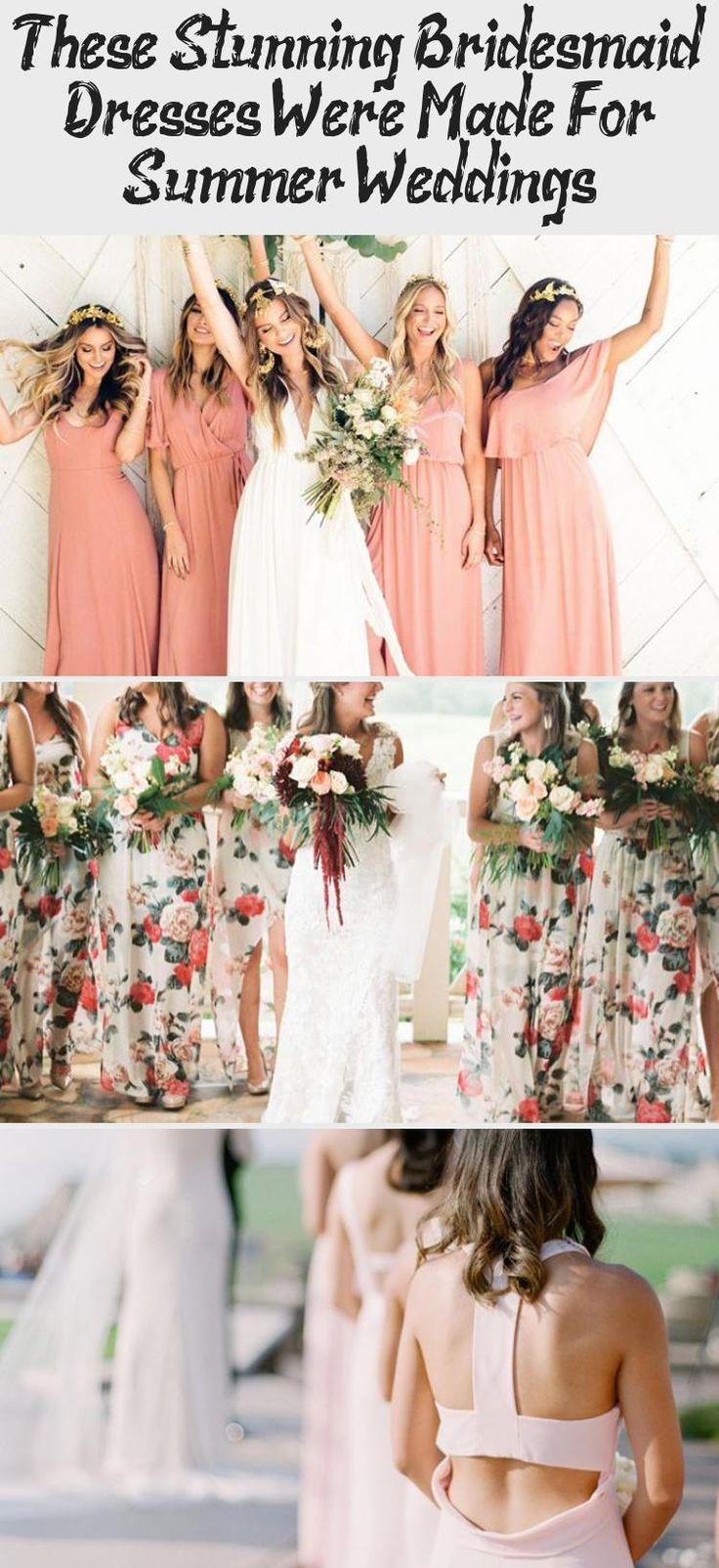 The Most Stunning Summer Bridesmaid Dresses Of 2018 #DifferentBridesmaidDresses #BridesmaidDressesMismatched #BridesmaidDressesMuslim #BridesmaidDressesBeach #BridesmaidDressesSpring