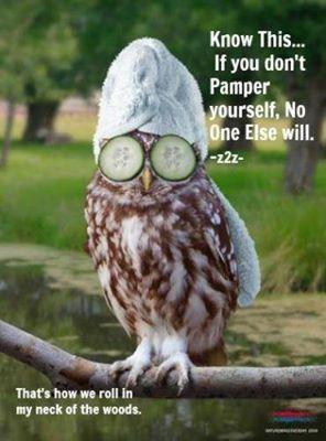 pamper yourself mr owl pamper myself pinterest