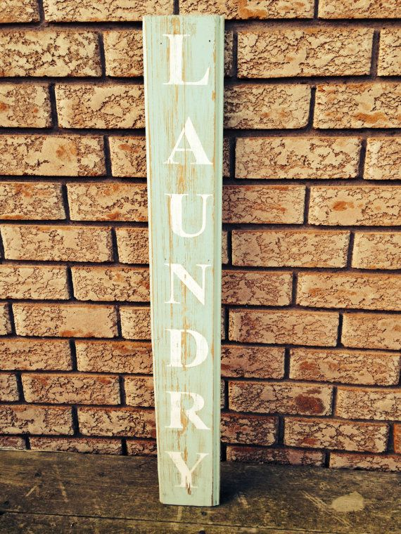 Laundry sign by BabyAnchorCo on Etsy
