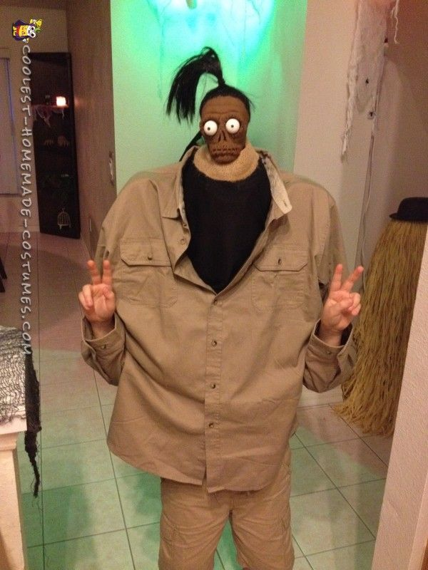 Beetlejuice Shrunken Head Man Costume | Coolest Homemade Costumes | Pinterest | Beetlejuice Costumes and Halloween costumes & Beetlejuice Shrunken Head Man Costume | Coolest Homemade Costumes ...