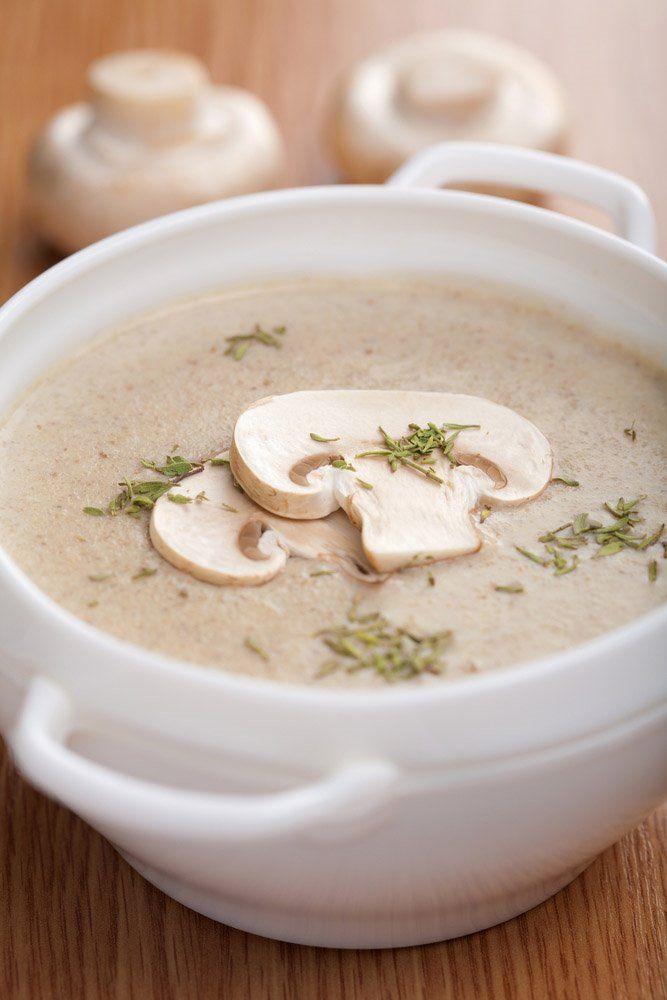 Receta de cocina de crema de champiñones. Las mejores y más variadas recetas de cocina en Plusesmas.com