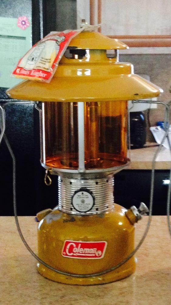 Coleman Gold Bond 228F Camping Lantern ! 6/72 ! Refurbished ! Rare ! Vintage ! #Coleman
