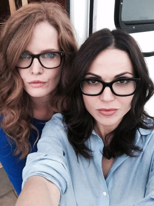 Lana Parrilla and Bex Mader