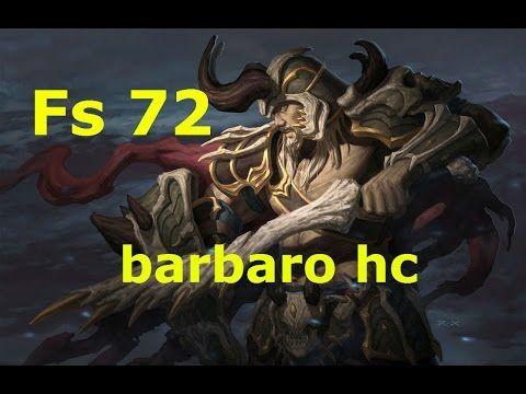 (Diablo 3) Fs 72 barbaro hc