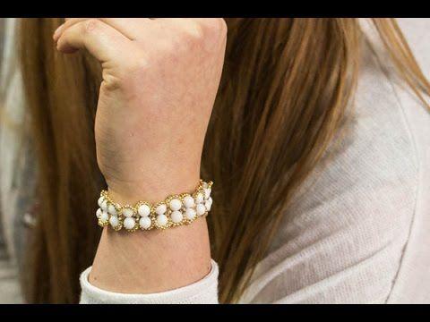 TUTORIAL - JAK ZROBIĆ BRANSOLETKĘ  Z KLASĄ TECHNIKĄ RIGHT ANGLE WEAVE? bracelet
