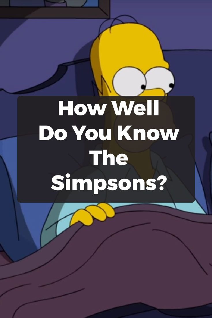 If you are one of those people who loves this show and has watched every episode at least once and can quote every popular dialogue, know the names of all the major characters and you consider yourself a walking, talking encyclopedia when it comes to information concerning the Simpsons, then this quiz will check how good you are.