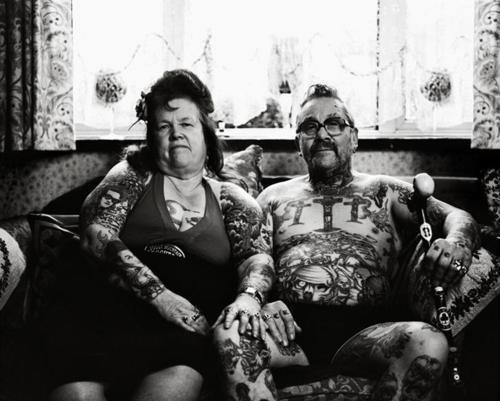 Resultado de imagen para old couple tattoo