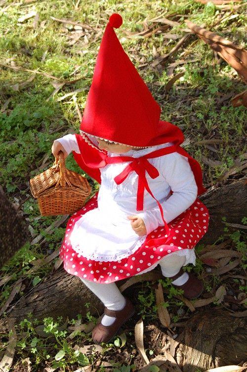 Halloween costume idea-- gnome!