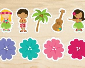 Aplique Havaí 5 cm