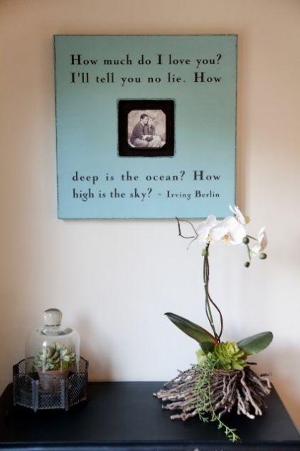 Love it!: Darcy Goodman, Gift Ideas, The Ocean, Goodman Design, Picture Frames, Frames Ideas, Love Quotes, Pictures Frames, Ocean Quotes