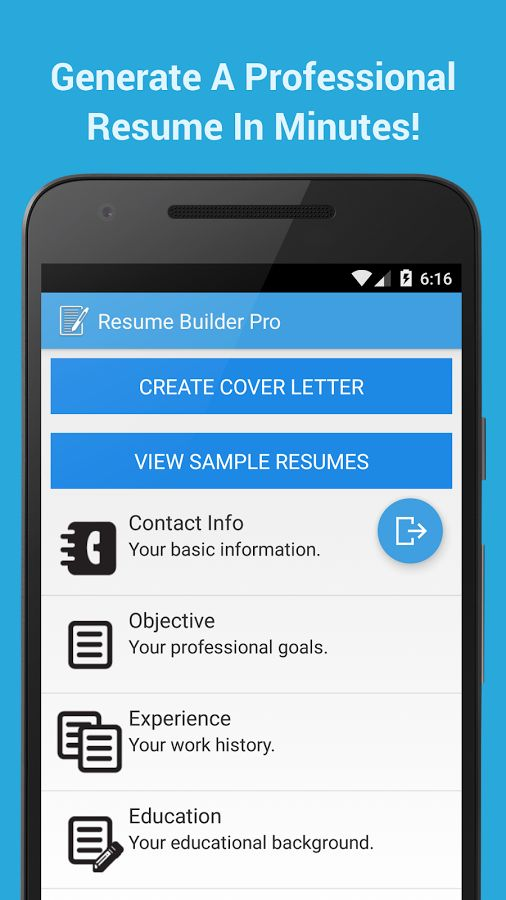 Best 25+ Resume maker ideas on Pinterest How to make resume, Get - Best Resume Builder App