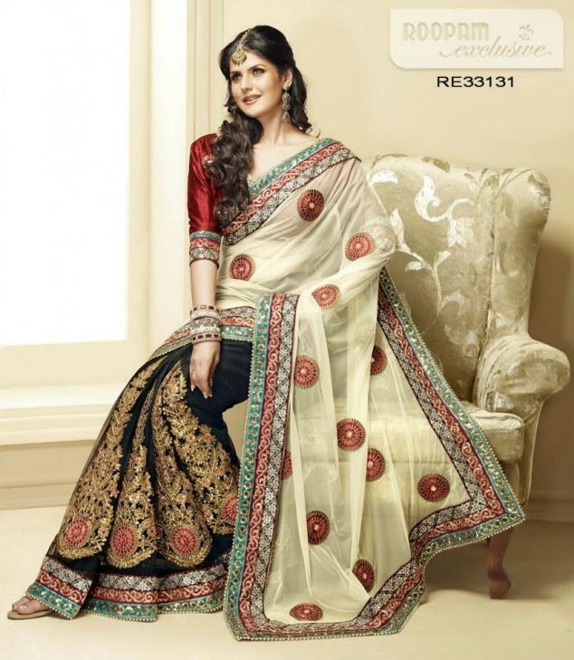 Exclusive Roopam Saree collection 2012 | Fandiz India - Latest Indian Fashion Trends