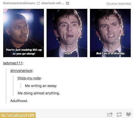 So funny bc it's true