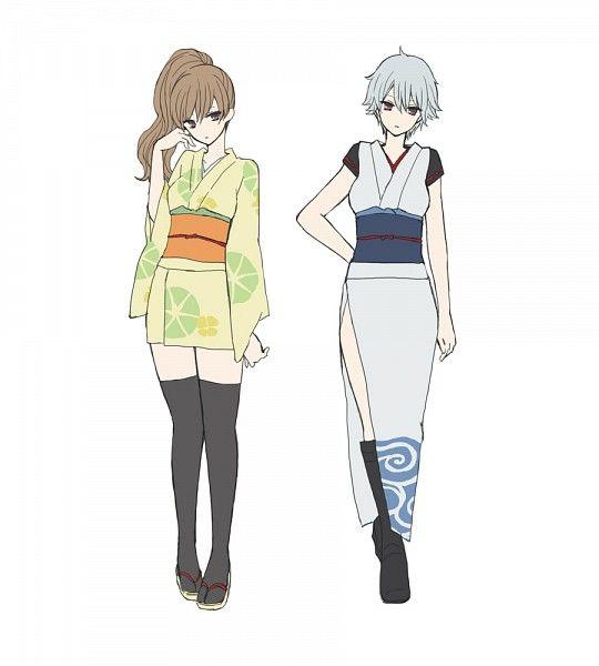 Tags: Anime, Pixiv Id 112780, Gin Tama, Okita Sougo, Okita Sorachi, Sakata Gintoki, Ginko (Gin Tama)