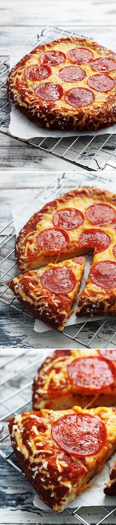 Pretzel crust pizza. .. has to be even better than Little Caesars!