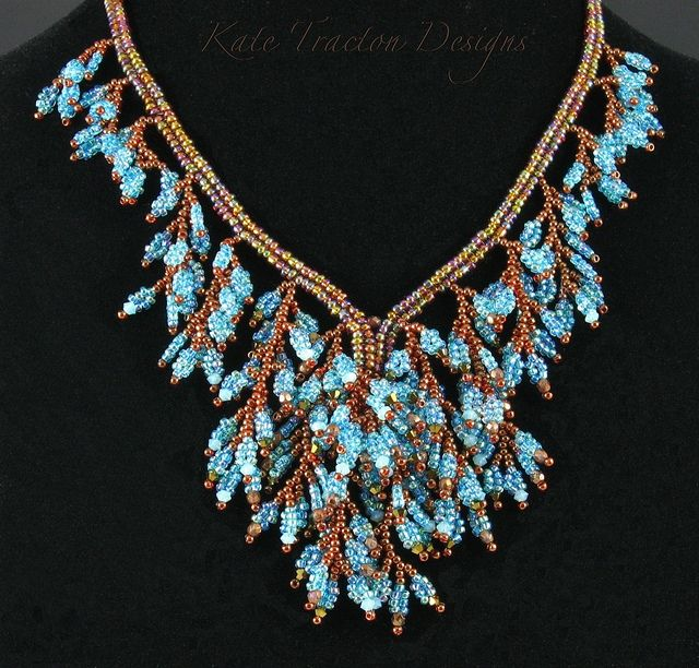#Fringed Foliage Necklace    repin .. like .. comment  :)    http://amzn.to/ZkZaw0