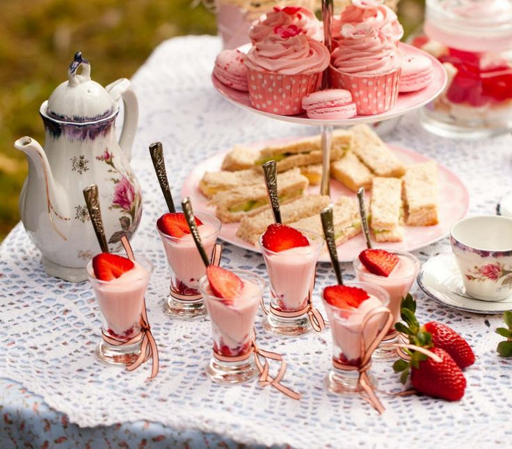 little girl tea party menu ideas