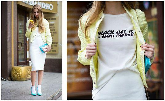 skirt Zara bomber Love Republic