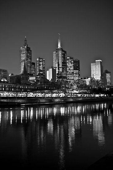 Melbourne - CBD & Skyline #melbourne #cbd #yarra #southbank #victoria #australia #flindersstation