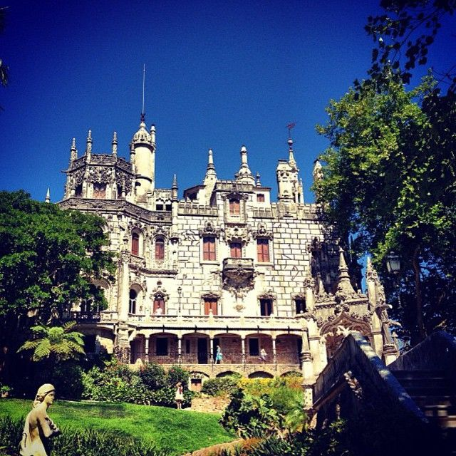 Quinta da Regaleira, Sintra, Portugal. Photo courtesy of leftytravels on Instagram.