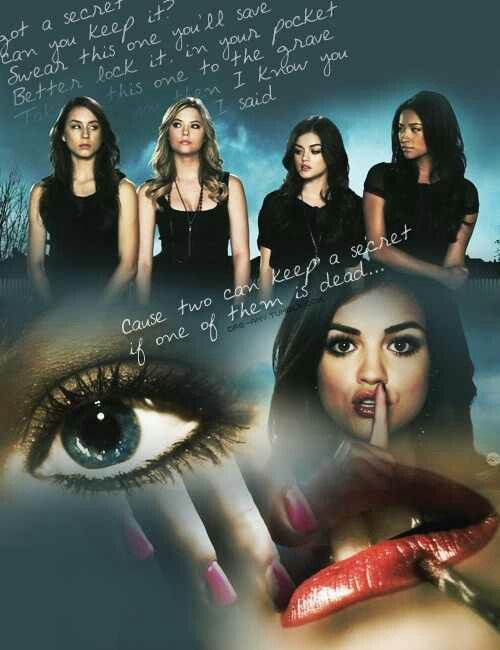 Pretty Little Liars! :) Call me a completely cliche 19 year old, but I really like this show! It keeps my attention and I love the storyline :)